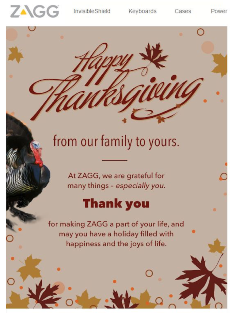 Thanks Giving From Our Family To Yours | Data Marketers GroupTo