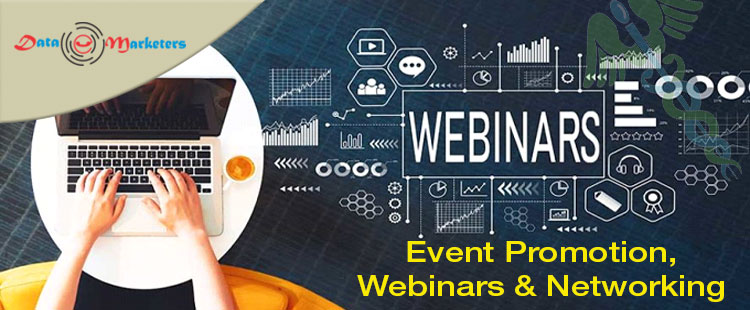 Event Promotion Webinars And Networking | Data Marketers Group