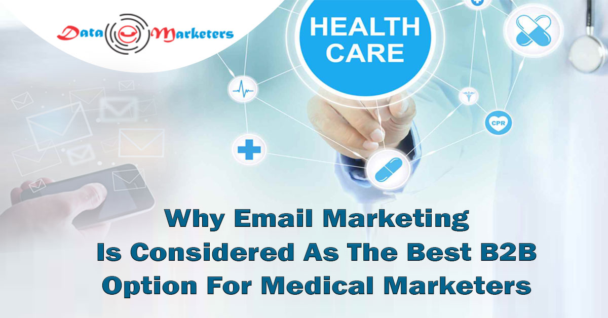 The Best B2B Option For Medical Marketers | Data Marketers Group