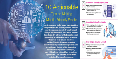10 Actionable Tips On Making Mobile Friendly Emails | Data Marketers Group