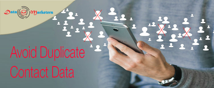 Avoid Duplicate Contact Data | Data Marketers Group