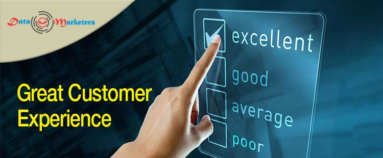 Great Customer Experience | Data Marketers Group