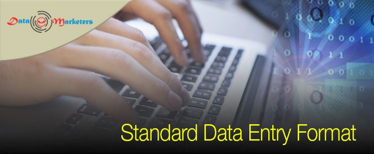 Standard Data Entry Format | Data Marketers Group