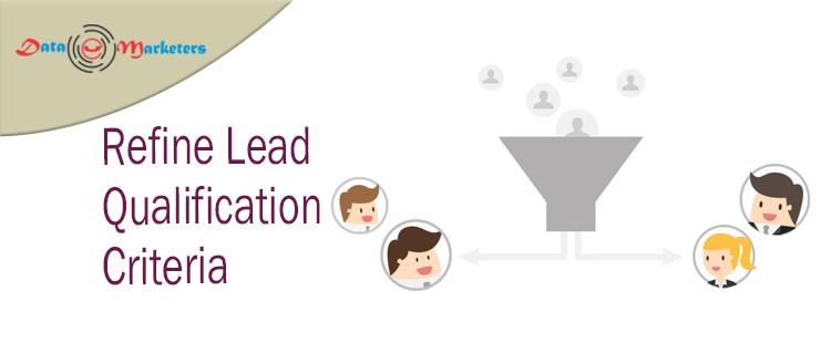Refine Lead Qualification Criteria   Data Marketers Group