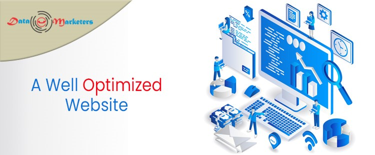 Well Optimized Website | Data Marketers Group