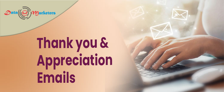 Thank You And Appreciation Email List | Data Marketers Group