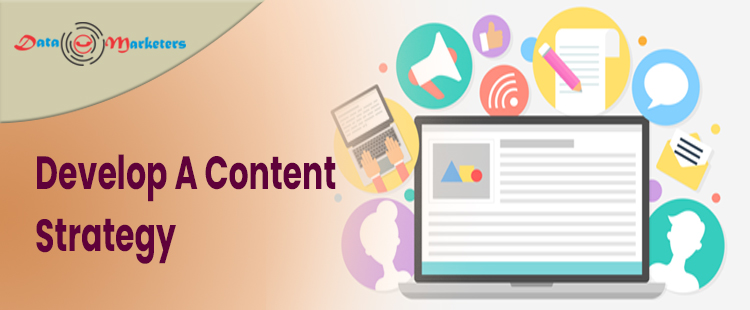 Develop A Content Strategy   Data Marketers Group