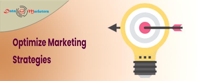 Optimize Marketing Strategies   Data Marketers Group